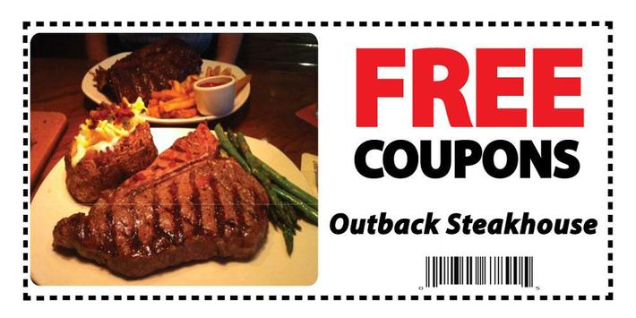 Coupons for Outback Steakhouse poster
