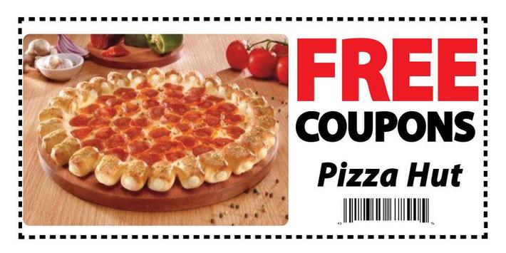 Coupons for Pizza Hut poster