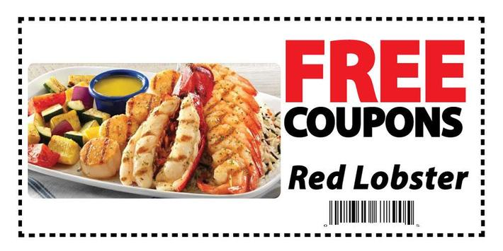 Coupons for Red Lobster poster