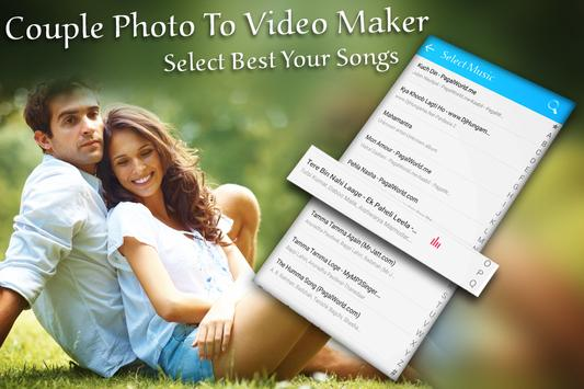 Photo To Video for Couple apk screenshot