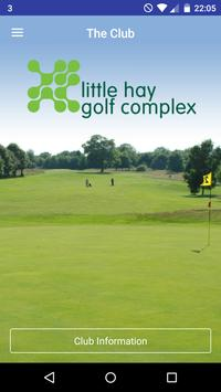 Little Hay Golf Complex CourseMate poster
