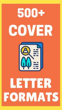 Cover Letter Formats 2018 poster