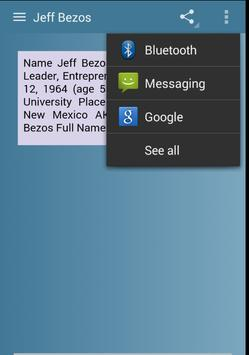 Jeff Bezos apk screenshot