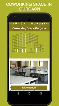 Coworking Space in Gurgaon poster