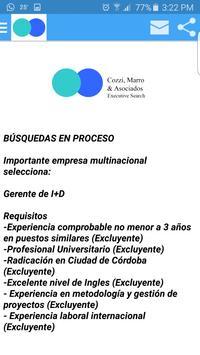 Cozzi,Marro & Asociados apk screenshot