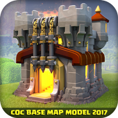 Base Map Model for COC icon