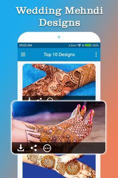 Wedding Mehndi Designs screenshot 5