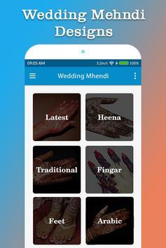 Wedding Mehndi Designs poster