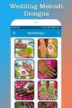 Wedding Mehndi Designs screenshot 1