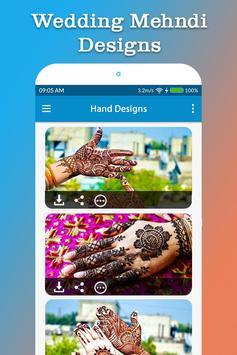 Wedding Mehndi Designs screenshot 2