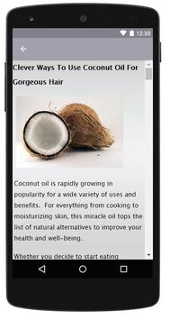Coconut Oil for Hair screenshot 1