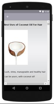 Coconut Oil for Hair screenshot 2