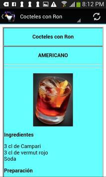 Cocteles y tragos. Recetas screenshot 2