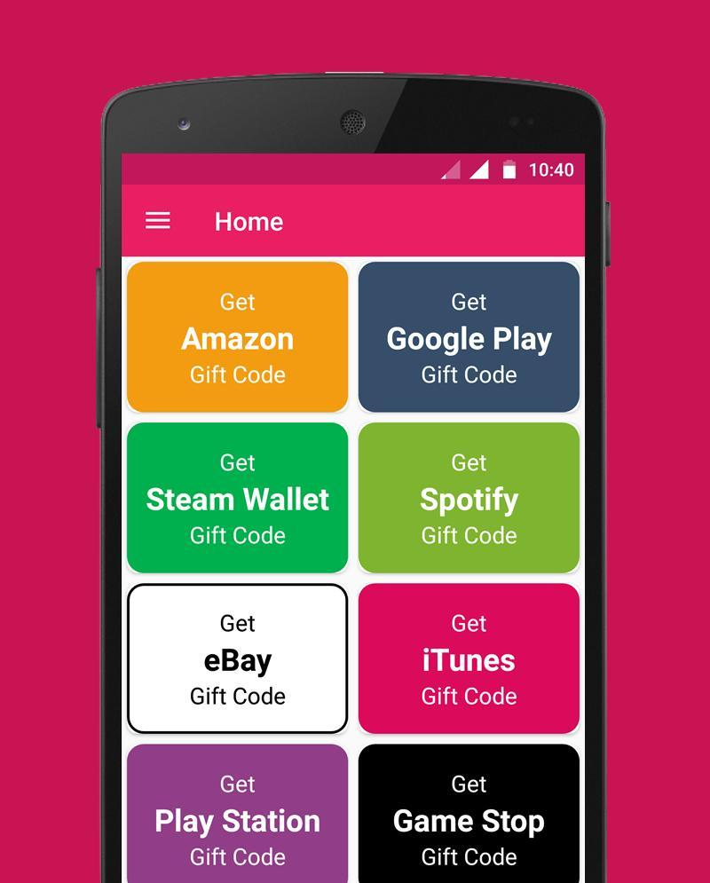 Free Gift Code generators for Android - APK Download