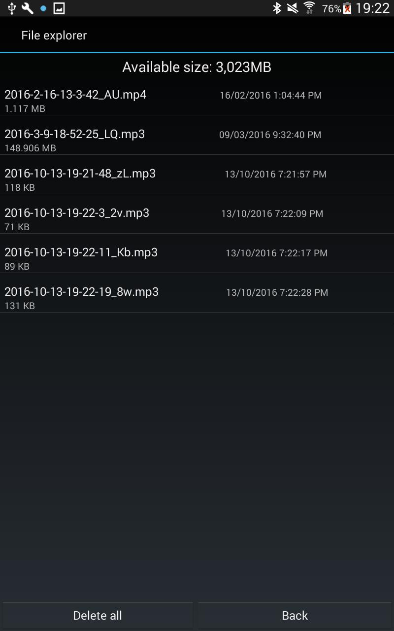 Hidden recorder for Android - APK Download