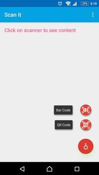 Scan it - QR Code, Bar Code screenshot 1