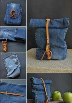 DIY Jeans Bag Ideas poster