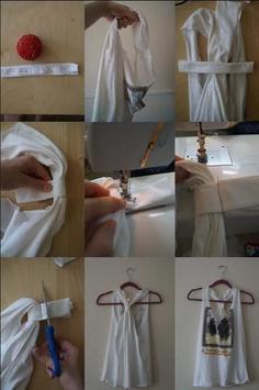Refashion Clothes DIY Tutorial screenshot 3