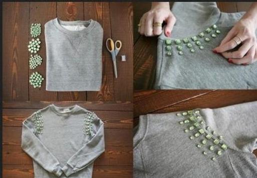 Refashion Clothes DIY Tutorial screenshot 4