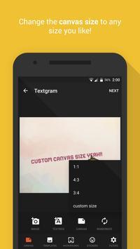 Textgram captura de pantalla 1