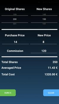 Average Stock Calculator poster