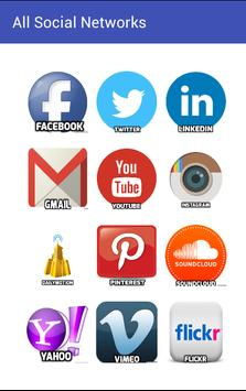 Social Apps All in One poster