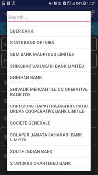 IFSC Code Directory screenshot 1