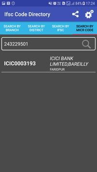 IFSC Code Directory screenshot 3