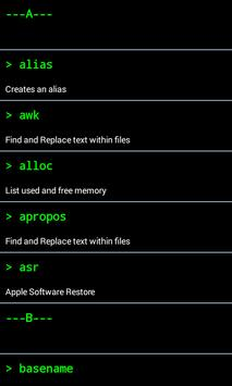 Mac Terminal Commands for Android - APK Download