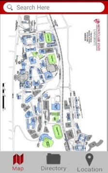 Dynamic Campus Map poster