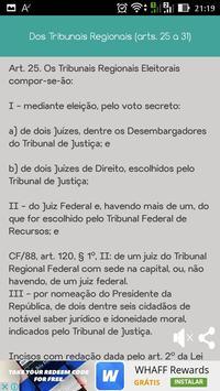 Código Eleitoral screenshot 6