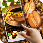Coffee 3D Live Wallpaper icon