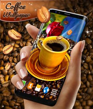 Coffee 3D Live Wallpaper poster
