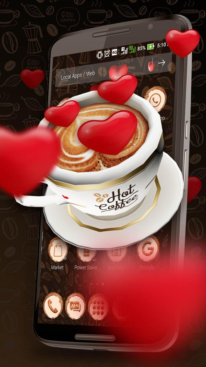3D Friendship Coffee Love Theme for Android - APK Download
