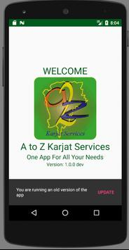 A TO Z KARJAT SERVICES poster