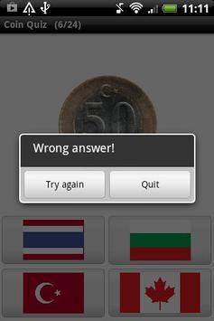 Coin Quiz apk screenshot