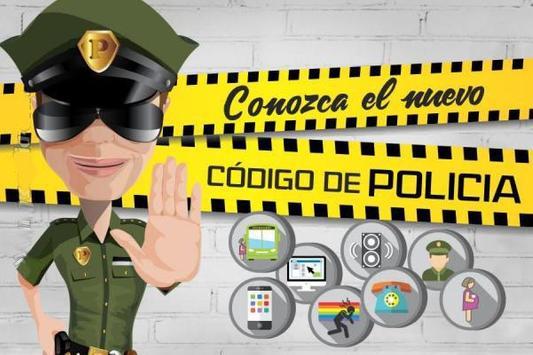 Nuevo Codigo De Policia 2017 poster