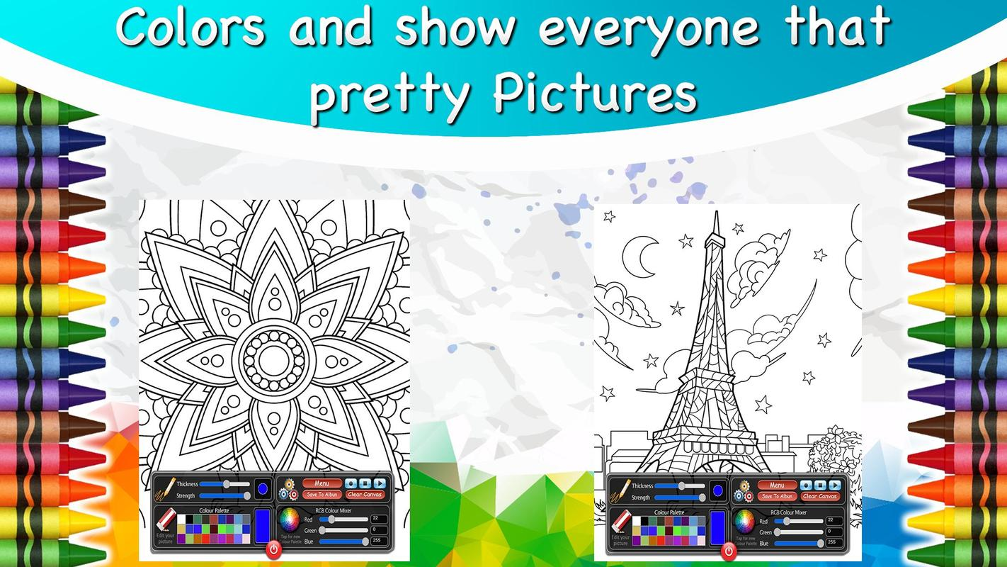 Color Me Book For Adults APK Download