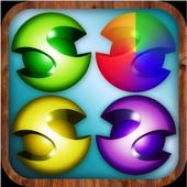 Smart colored logic puzzle icon