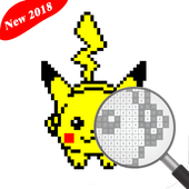 Coloring by Number Pokemon Toys Version 2018 icon