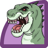 Dinosaur Color By Number icon
