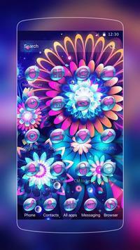 color flower neon screenshot 1