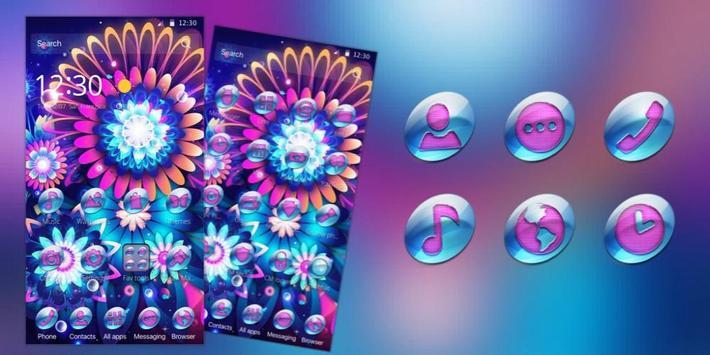 color flower neon screenshot 3