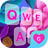 Color Flower Keyboard Theme for Girls icon