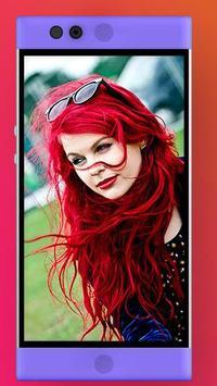 Hair Lips Eyes Color Changer apk screenshot