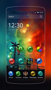 galaxy color star theme apk screenshot