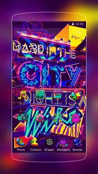 color street graffiti poster