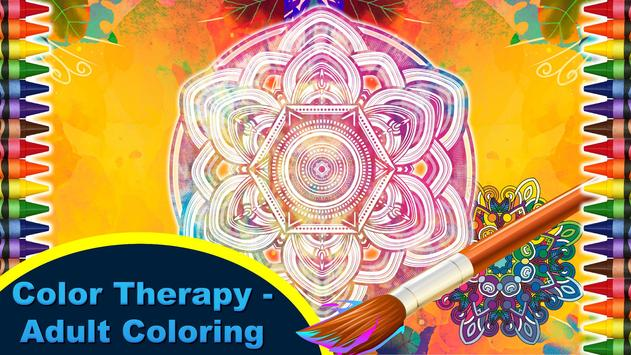 Color Therapy - Adults Book poster