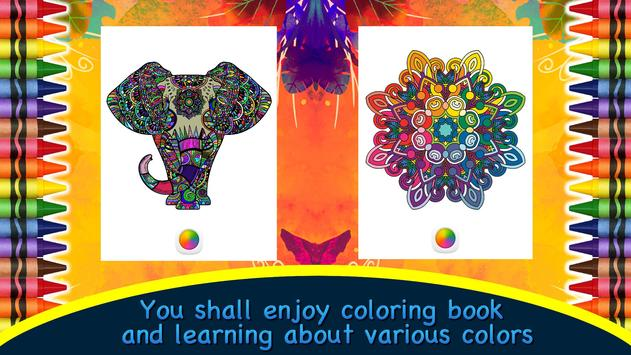 Color Therapy - Adults Book screenshot 14