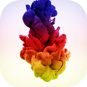 Colored Ink Drops LWP icon